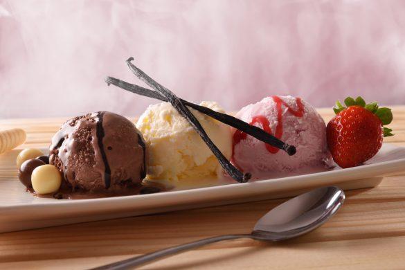 glace dessert restaurant relais de la roche