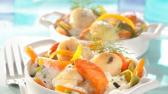 noix de saint jacques restaurant roche bernard